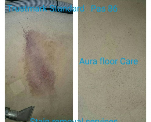 Specialist stain spotting services